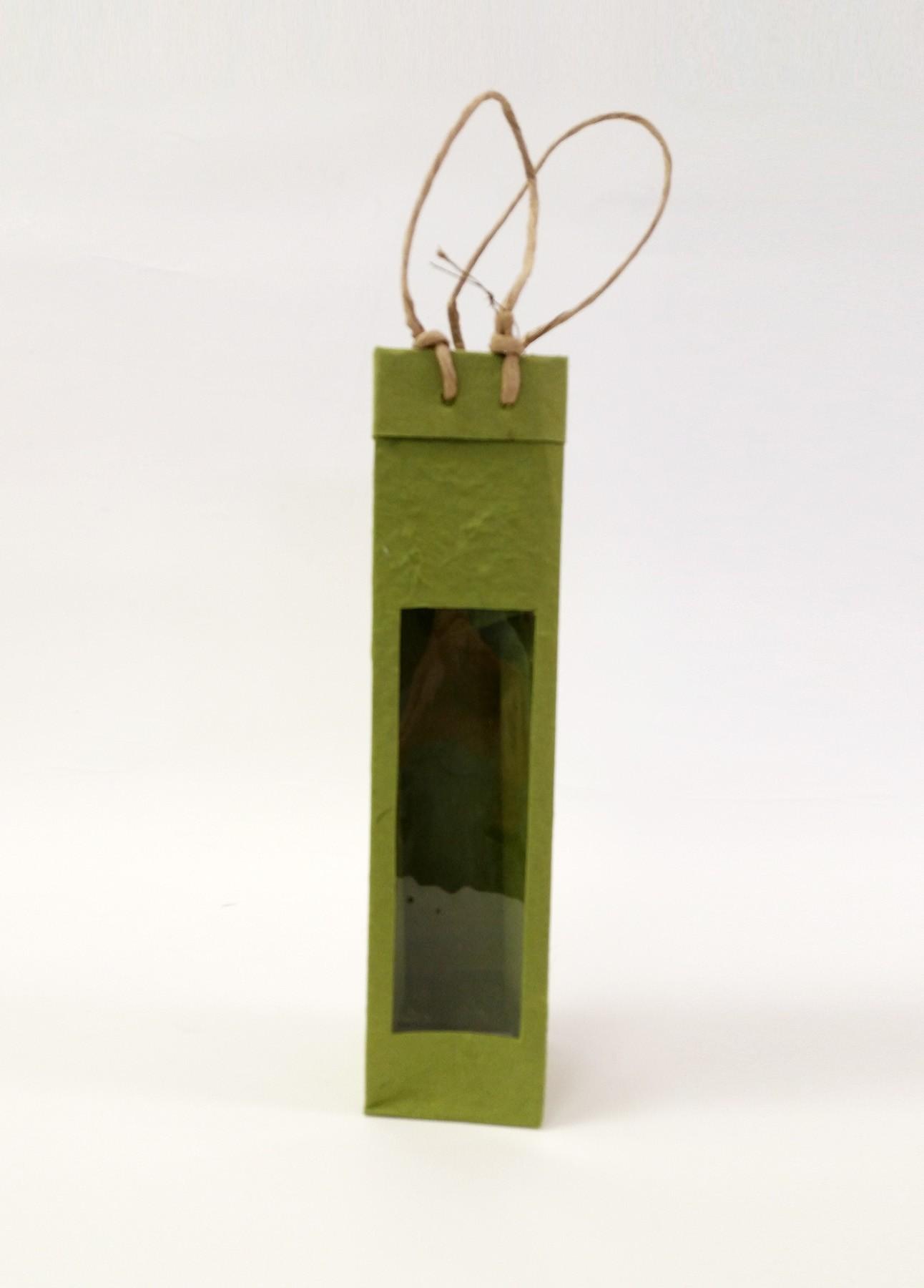 One-Bottle Window Bag in Green