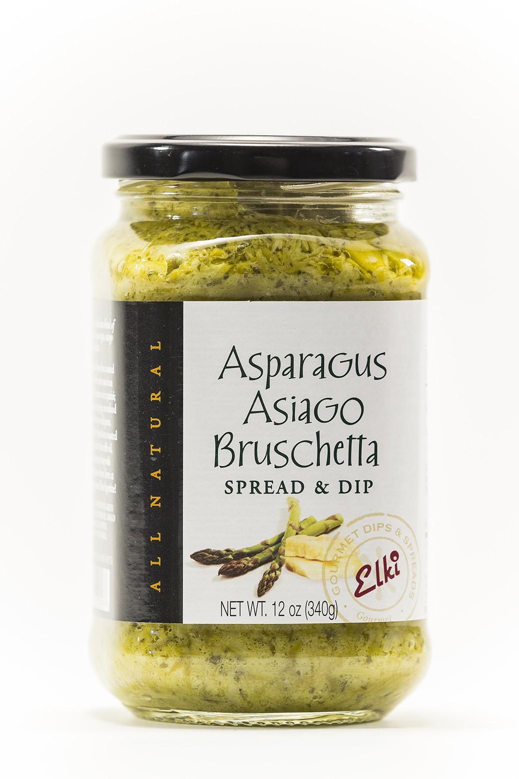 Asparagus Asiago Bruschetta