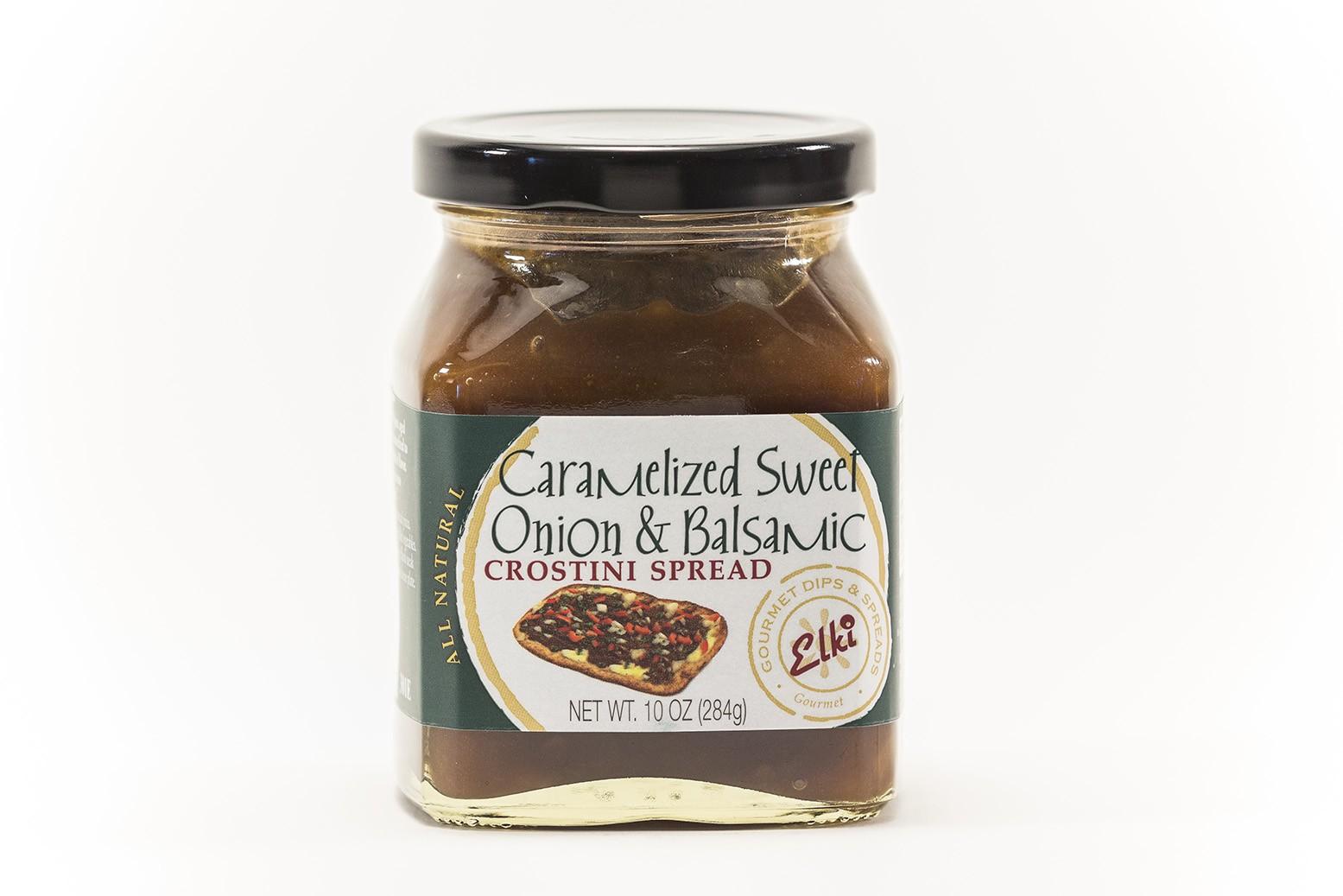 Caramelized Sweet Onion & Balsamic Crostini Spread