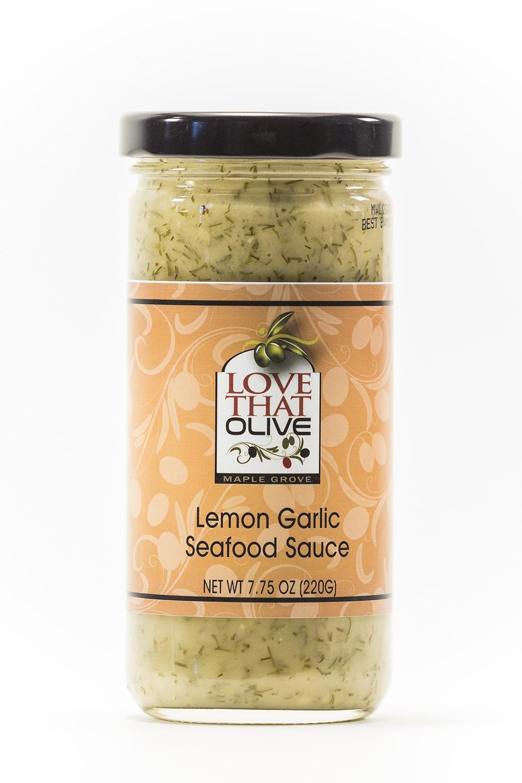 Lemon Garlic Seafood Sauce