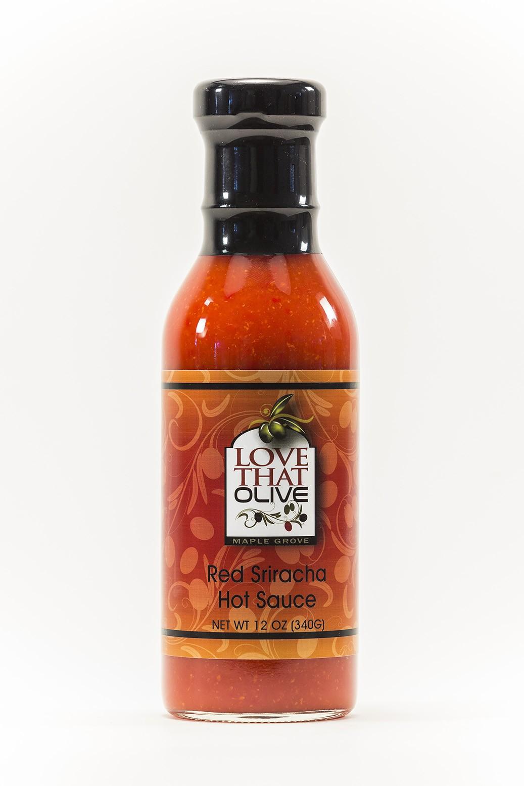 Red Sriracha Hot Sauce