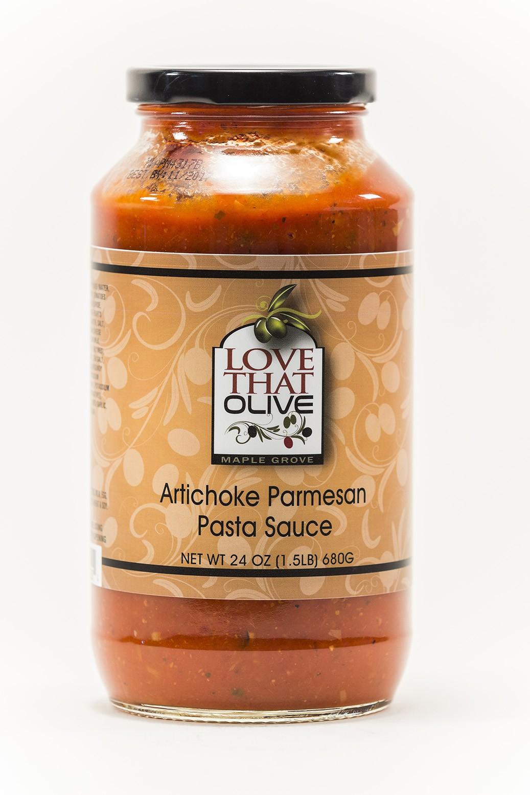 Artichoke Parmesan Pasta Sauce