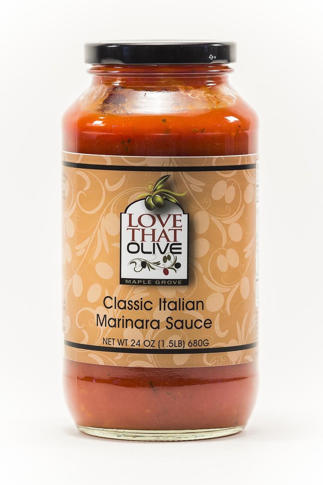 Classic Italian Marinara Pasta Sauce