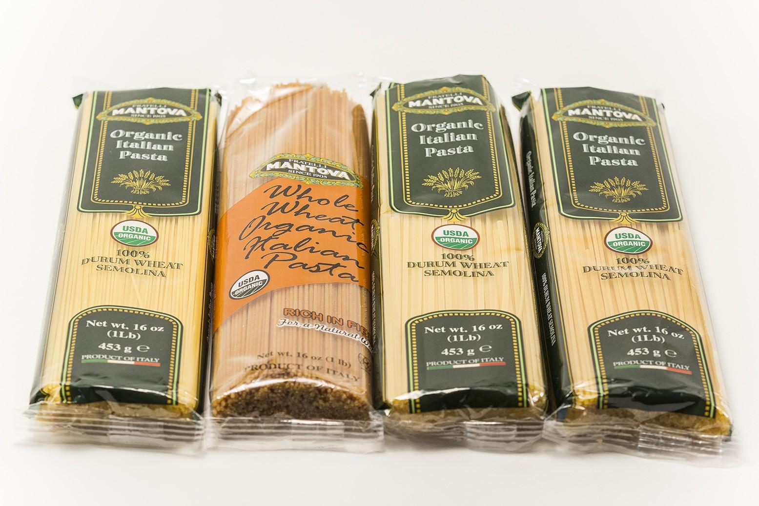 Mantova® Organic Whole Wheat Pasta