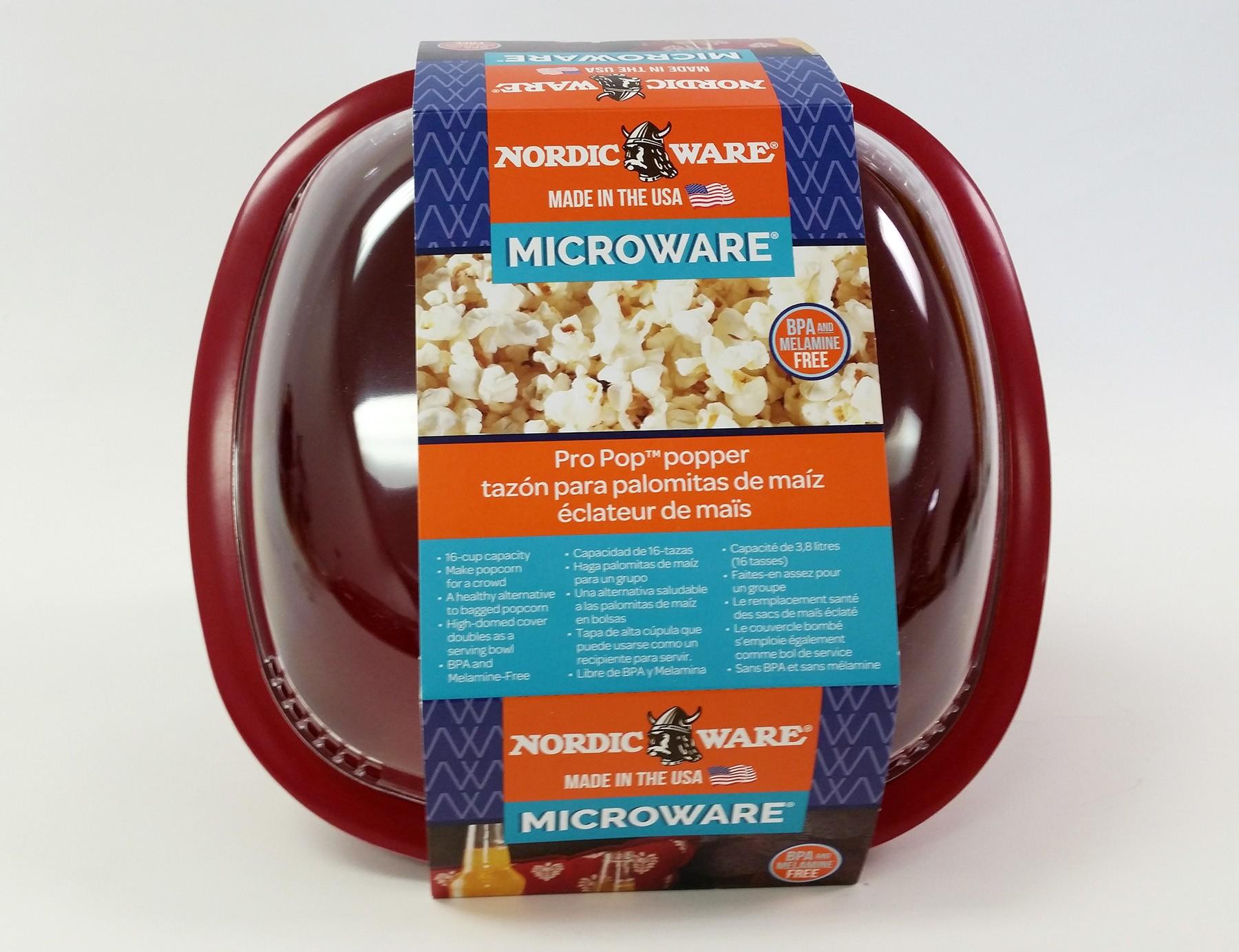 Large Microwave Popcorn Popper