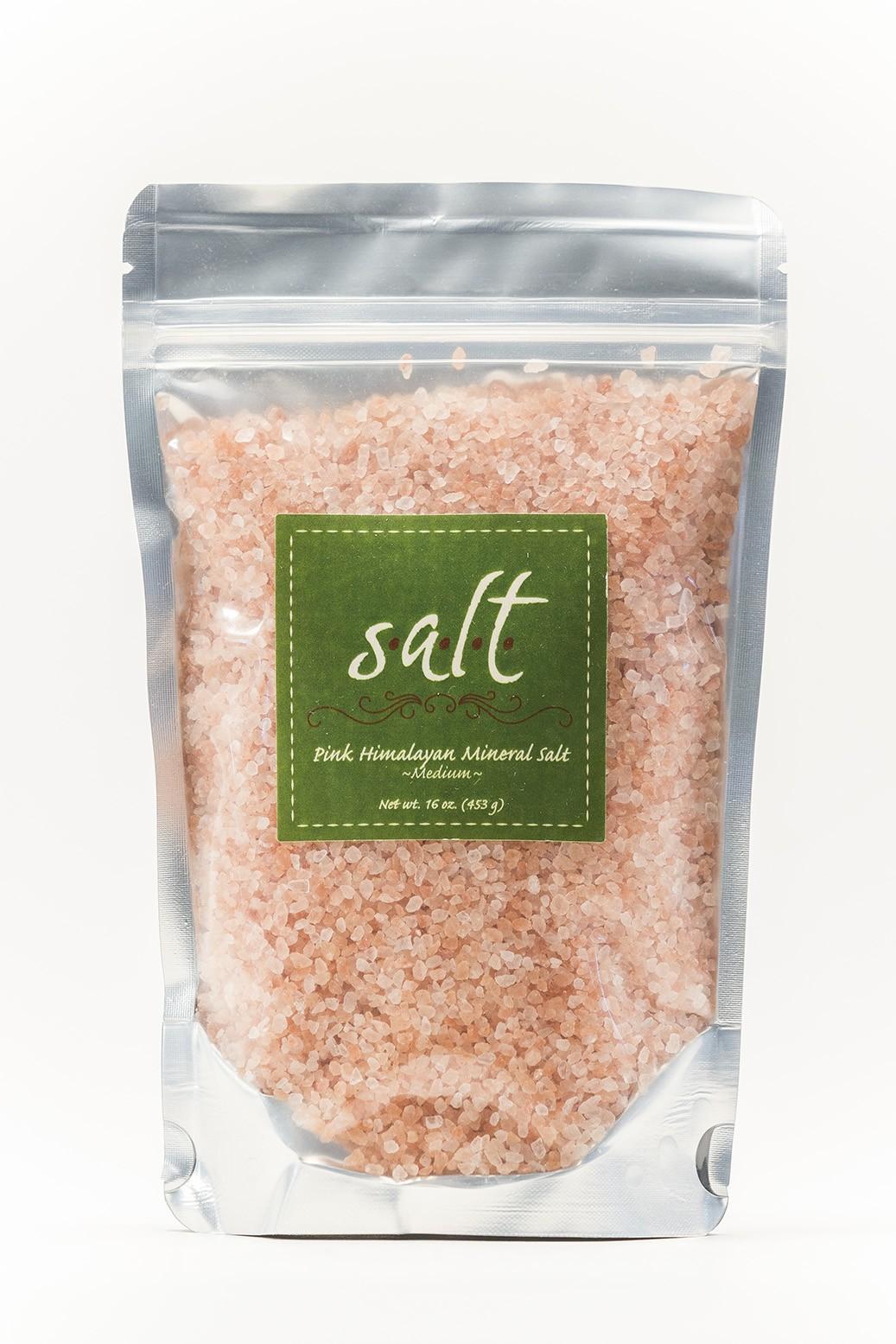 Pink Himalayan Mineral Salt (fine)